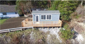 drone of gray classic tiny house