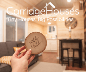 custom tiny home built with smart technology