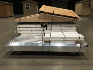 tiny house shelter kit using sip panels